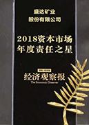 2018资本市场年度责任之星